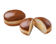 Load image into Gallery viewer, Custard Fudge Doughnut (2 Pack)