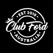 Club Ford Badge Stickers
