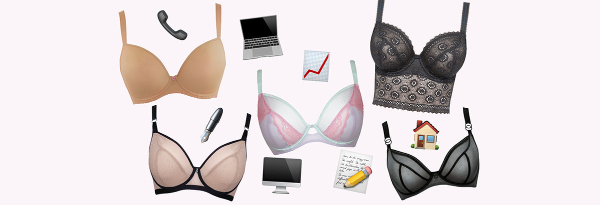 Which Bras We're Wearing to #WFH In