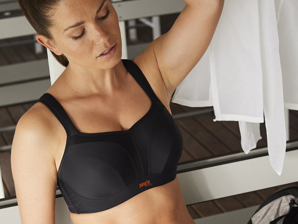 panache ultimate wired sports bra black