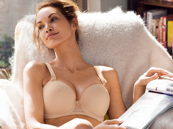 fantasie neve sand smooth seamless moulded t-shirt bra