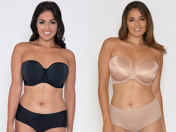 curvy kate luxe smoothie strapless bras d to j cup