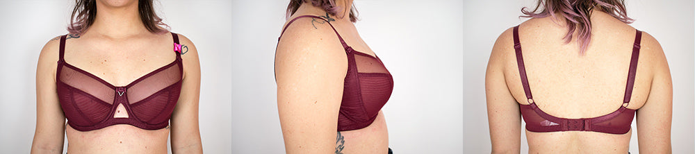 curvy kate victory in 30F bra fitting
