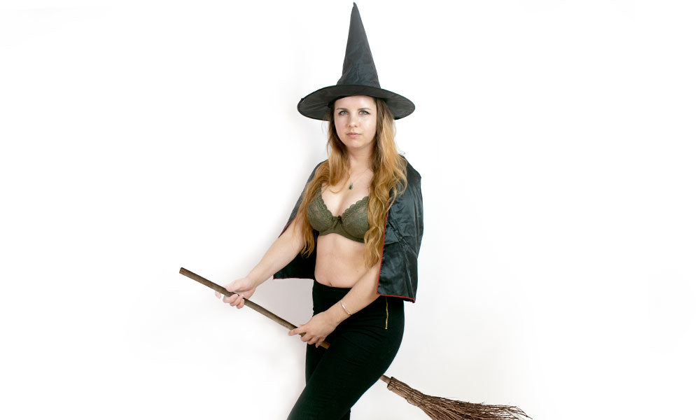 lingerie halloween costume witch