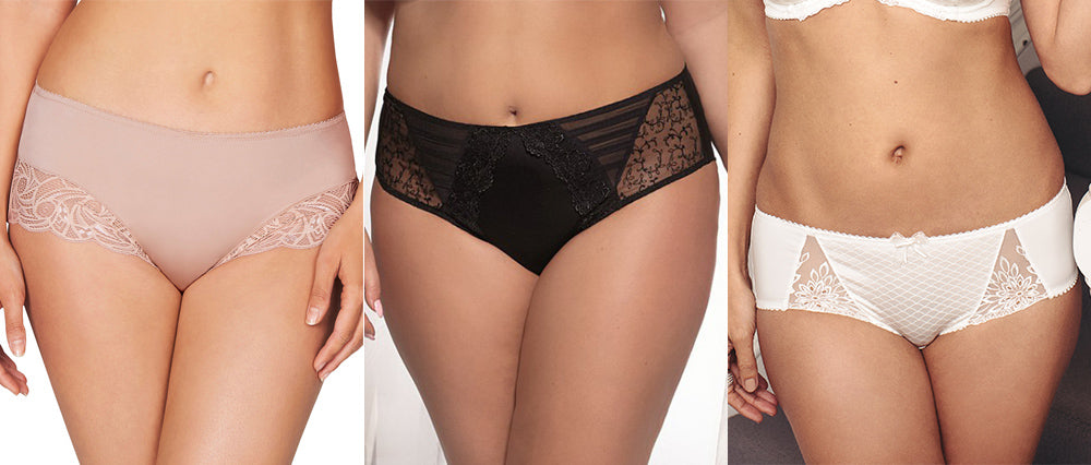 Mid Rise Midi Brief Knicker