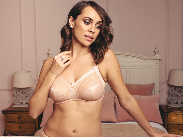 Imogen Rose by Pour Moi Soft Cup Wireless Full Bust Bra D G Cups