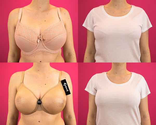 Seamed Bra vs Non-Seamed Bra White T Shirt Test