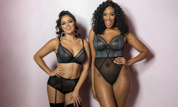 curvy kate sparks fly full bust D+ cup bodysuit