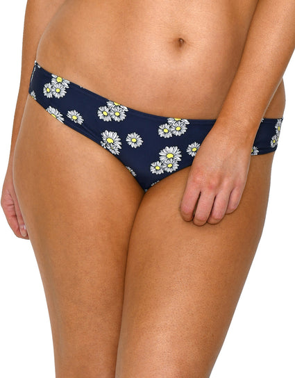 Flirtelle Bloom Bikini Brief Navy Floral