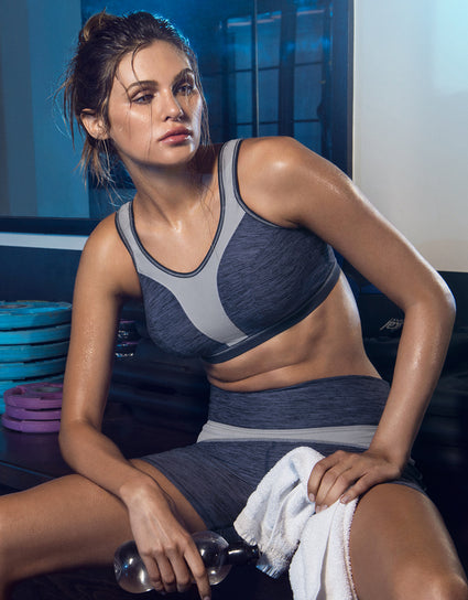 Freya Active Force Soft Cup Sports Bra Total Eclipse Navy Blue