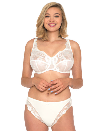 Adore Sunflower Full Cup Bra Pearl