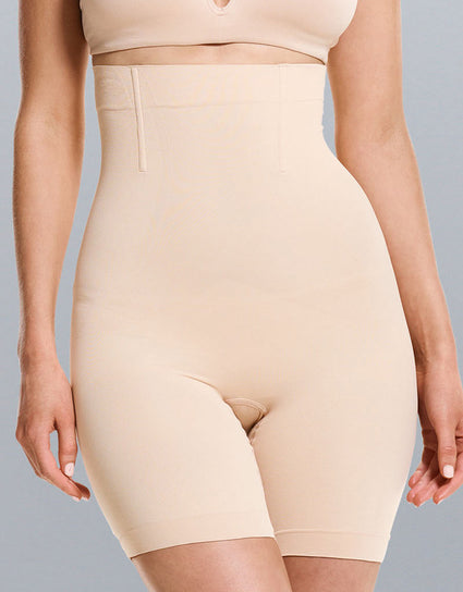 Ambra Cinch Short Beige