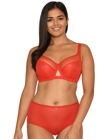 Curvy Kate Victory Balcony Bra Flame Red