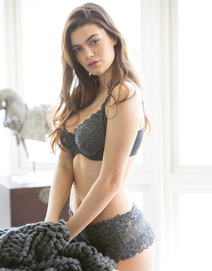 Lepel Fiore Full Cup Bra Steel Grey