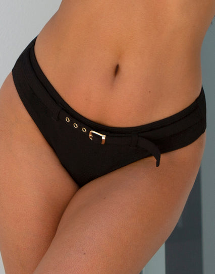 Pour Moi Sol Beach Bikini Brief Black
