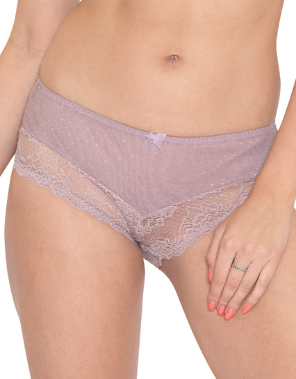 Flirtelle Viola Brief Mink/White