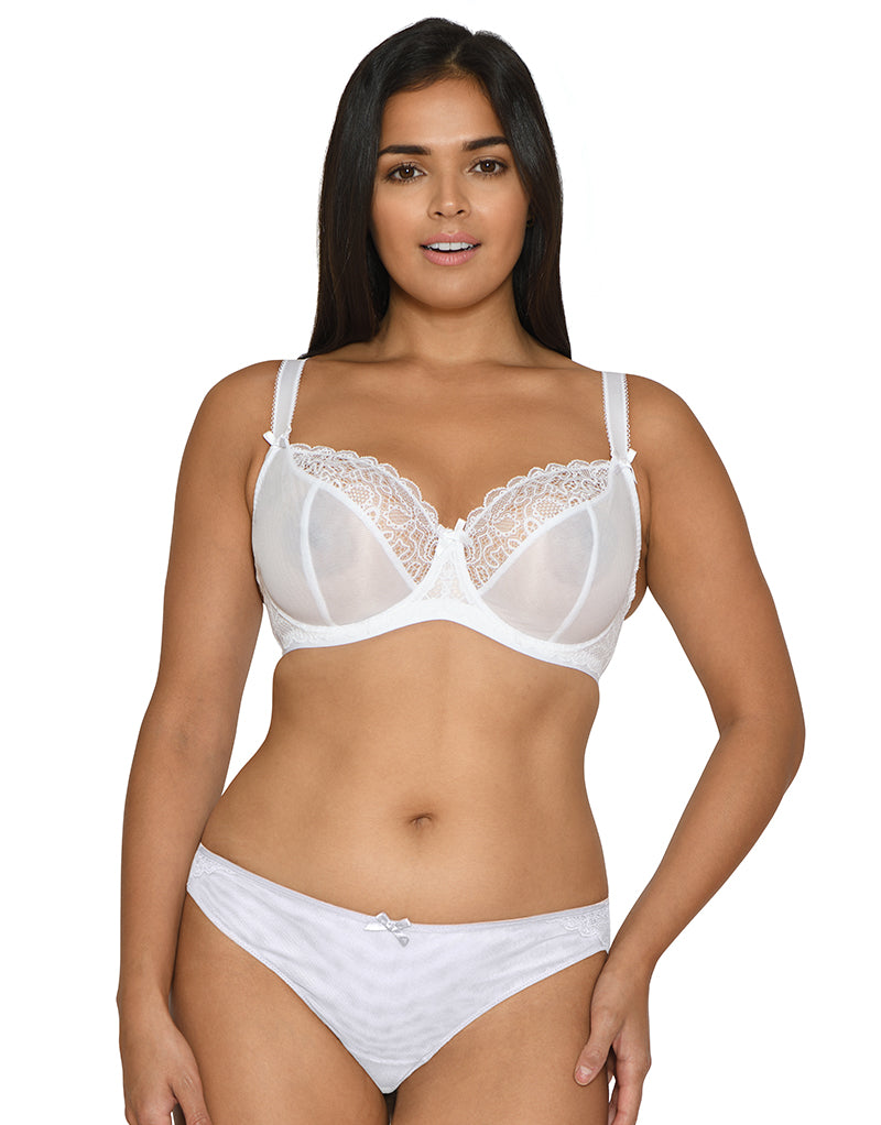 Curvy Kate Ellace Balcony Bra White