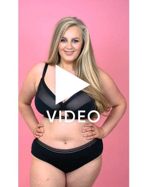 Get the full 360 view of our Curvy Kate Unwind Bralette