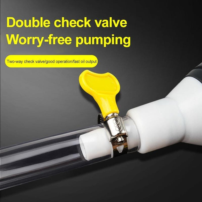 Siphon Manual Pump - Faster and safer liquid transfer