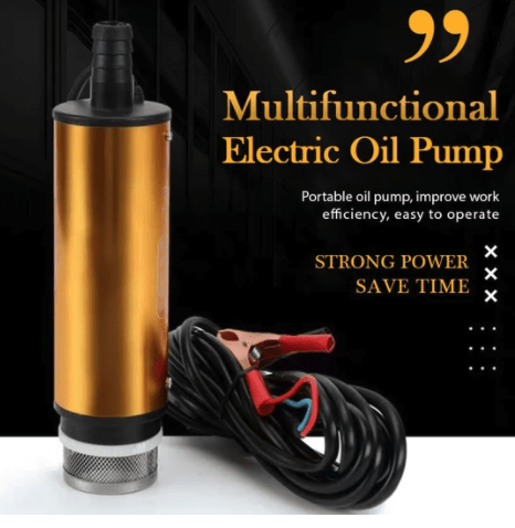 FuelHatch Multifunctional Electric Oil Pump