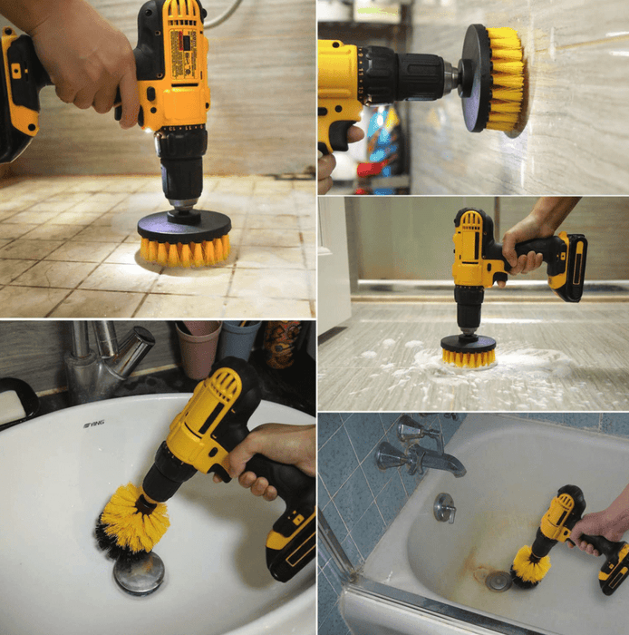 Automatic Scrubber Drill Brush Set™ | Make Deep Cleaning So Much Easier