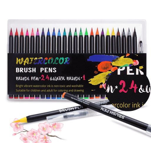Craftric™ Real Brush Pens - Create amazing watercolor art!