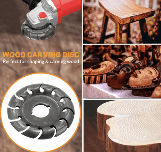 Cutzo™ Wood Carving Disc - The strongest carving disc