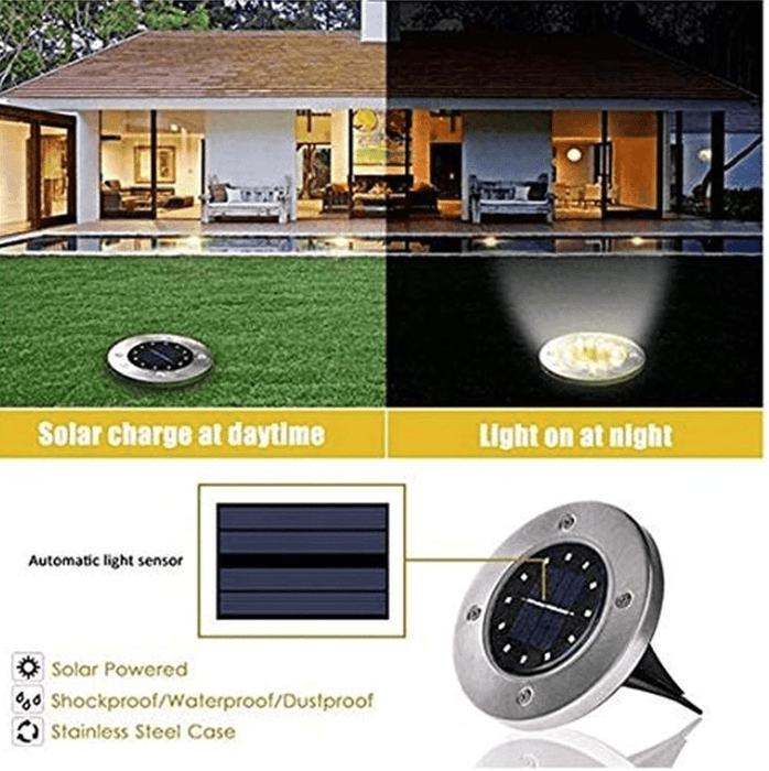 SolarBro - Sun Powered LED Lights