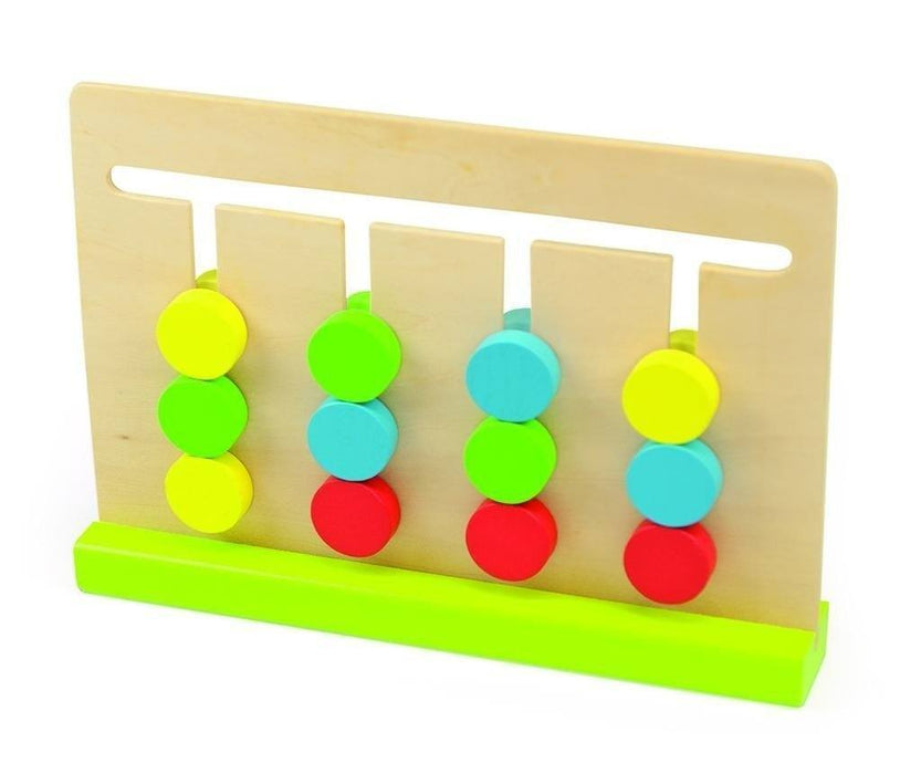 31 Color Matching Toy Pieces