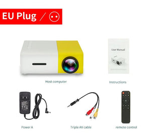 Mini Projecteur 1080P HDMI USB