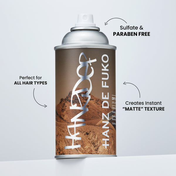 Hanz de Fuko Dry Shampoo - Cream of the Crop Pte Ltd