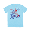 WBSC-Premier12-Baseball-Korea-Womens-T-Shirt-Blue