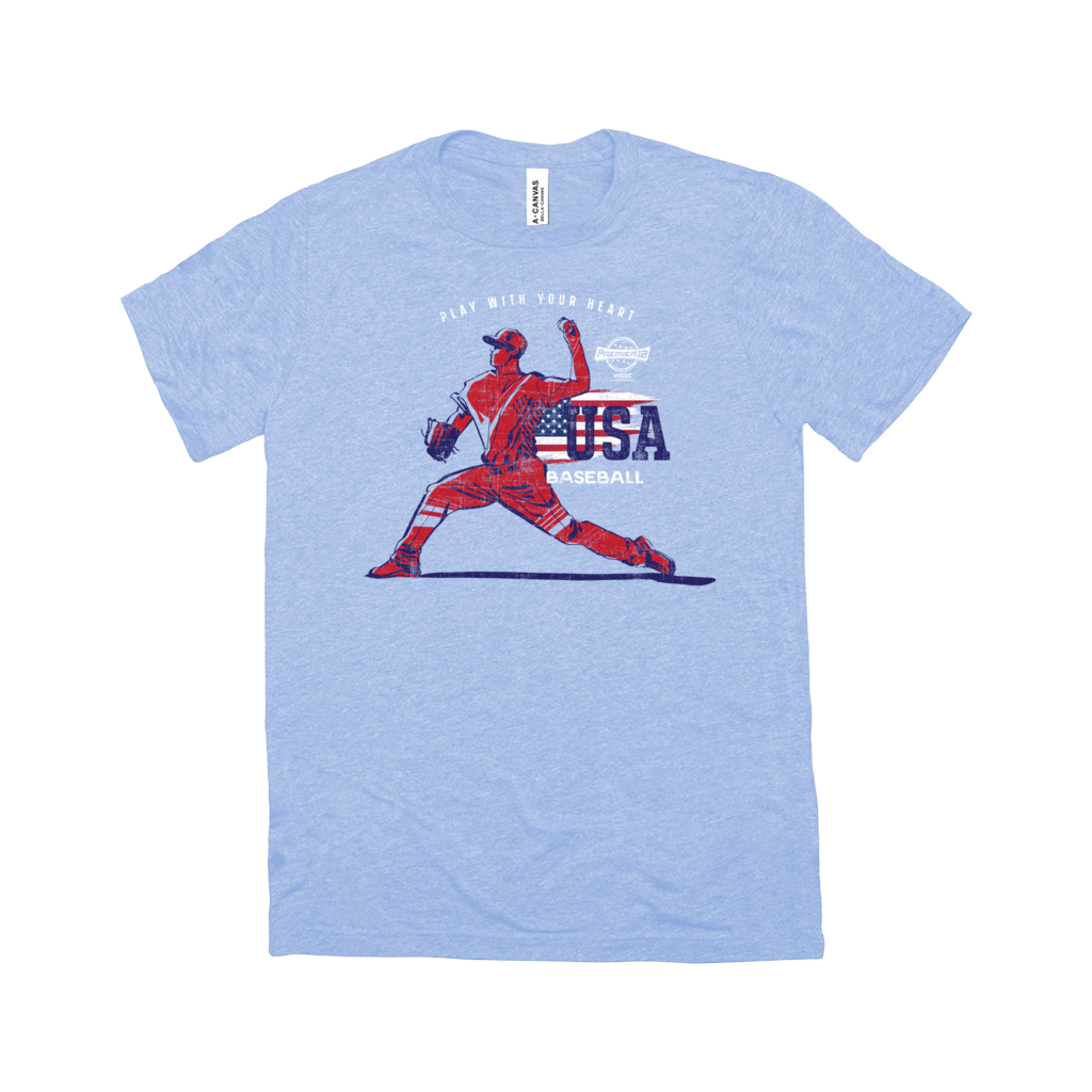 WBSC-Premier12-Baseball-USA-Womens-T-Shirt-Blue