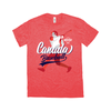 WBSC-Premier12-Baseball-Canada-Womens-T-Shirt-Red