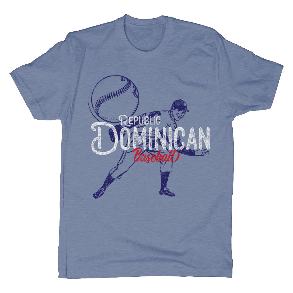 WBSC-Premier12-Baseball-Dominican-Republic-Mens-T-Shirt-Blue
