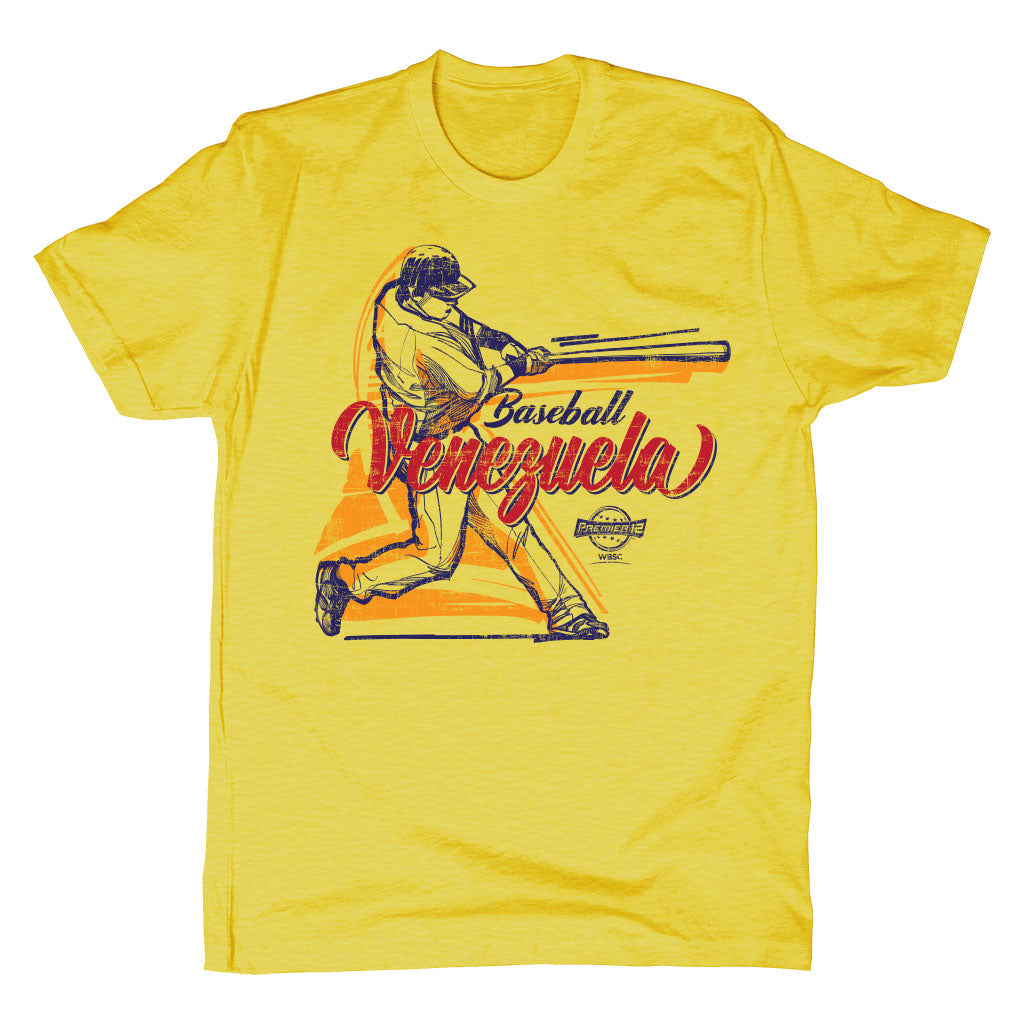 Venezuela Premier12 Baseball T-Shirt (Men's)