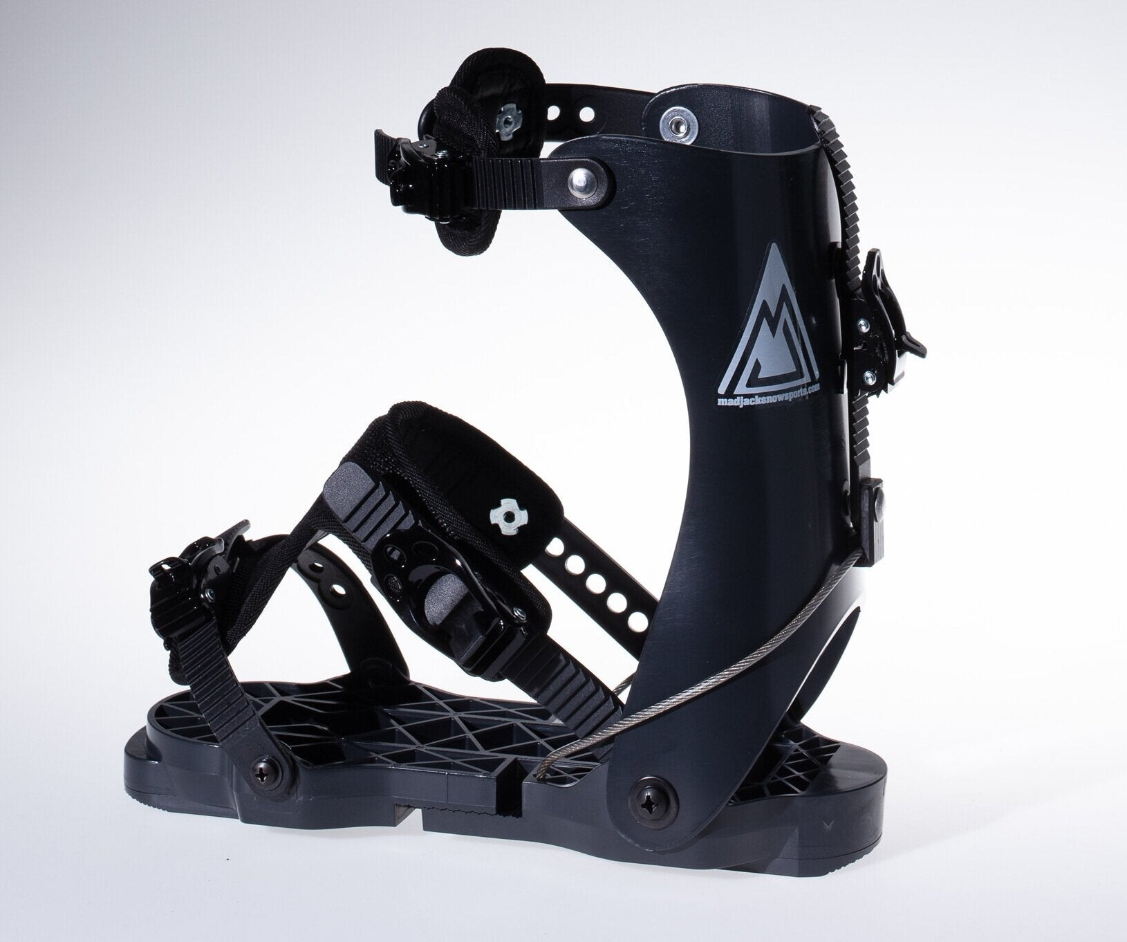 MadJacks Ski Boots Binding, The Most Comfortable Snowboard Boot Adaptation Frame, Ski Bindings For Men and Women