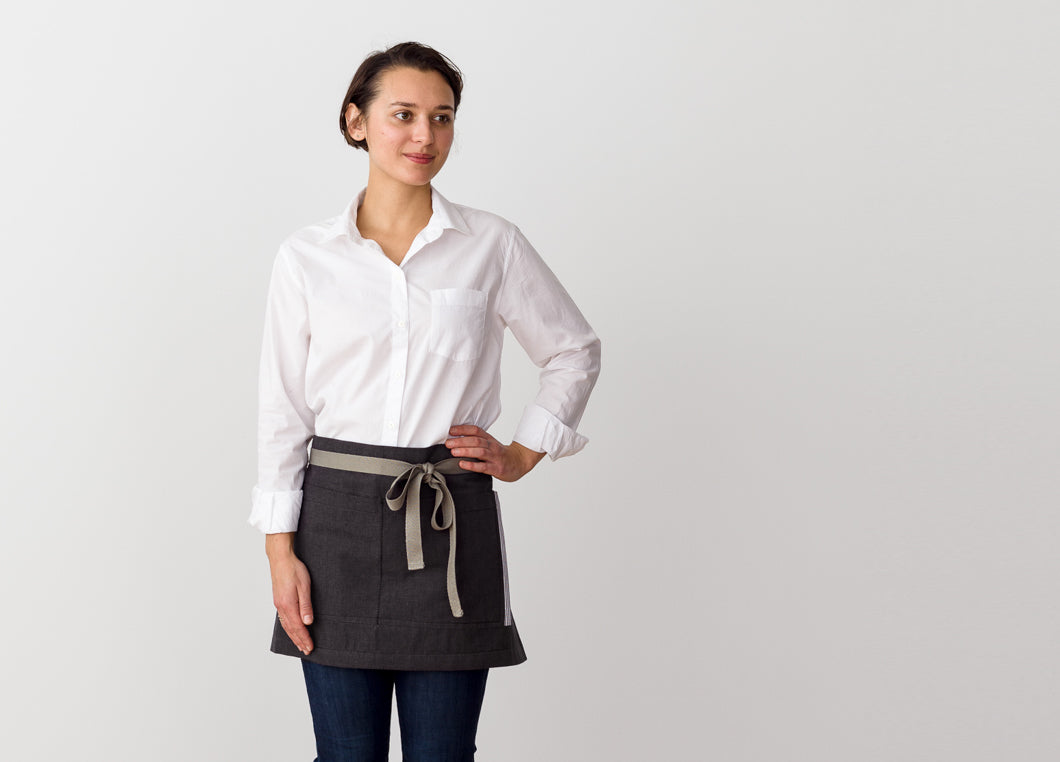 Bistro Shorty Waist Aprons for Servers