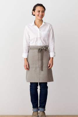 Bistro Middly Apron, Tan, for Men and Women