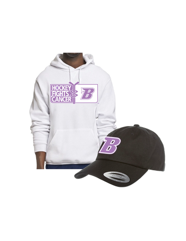 Bundle | Blues x Hockey Fights Cancer | Hoodie + Hat