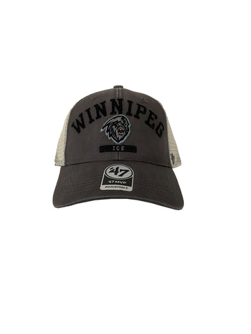 Adult Hat | Winnipeg ICE + Dark Yeti | Brayman | Grey