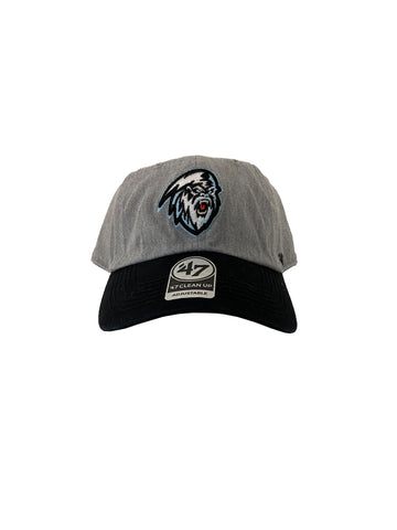 Adult Hat | Light Yeti | Palomino Clean Up | Grey & Black
