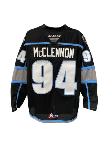 Men's Jersey | Customized | #94 Connor McClennon | Black