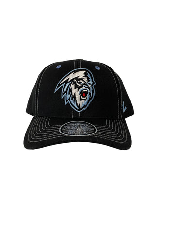 Adult Hat | Light Yeti | Black