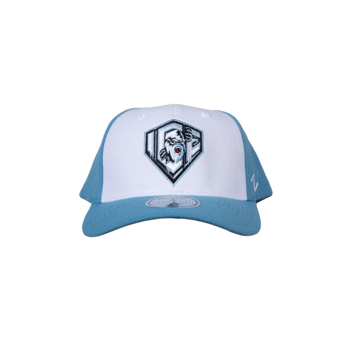 Adult Hat | Light Shield | White & Blue