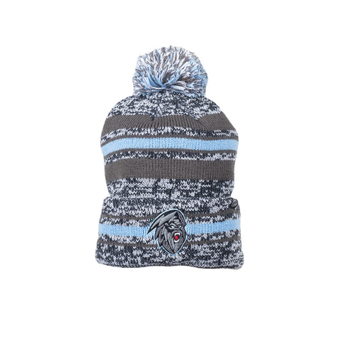 Adult Toque | Dark Yeti | Grey & Blue