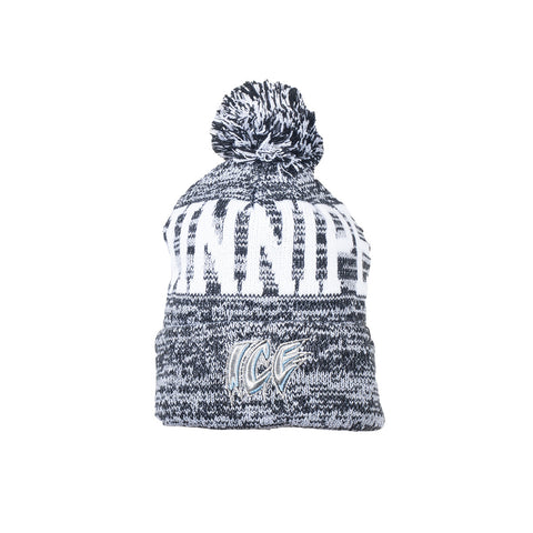 Adult Toque | Winnipeg + ICE Wordmark | Grey
