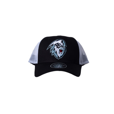 Adult Hat | Light Yeti | Black & White