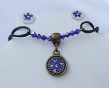 Load image into Gallery viewer, Elder Flower Solitary - Adjustable Necklace Complete Set - Choose your color