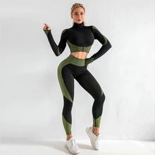 Load image into Gallery viewer, Green Supreme Long Sleeve Set | Daniki Limited